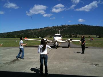 Aerospace Workshop for Spokane Area High School Students