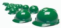 green hardhats