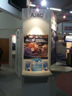 AJAC Display at Paris Air Show - 2011