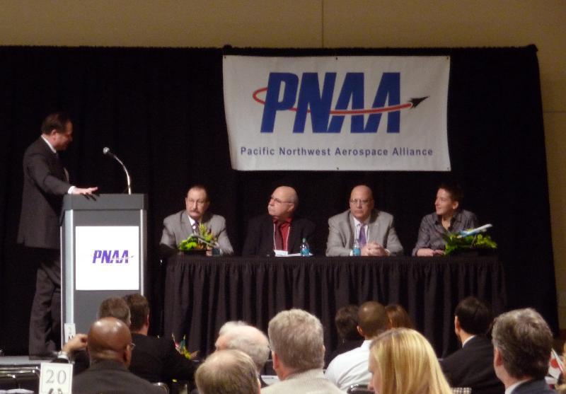 Laura Hopkins Speaking on 2011 PNAA Panel