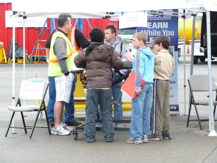 Alaska Airlines Aviation Day - 2011