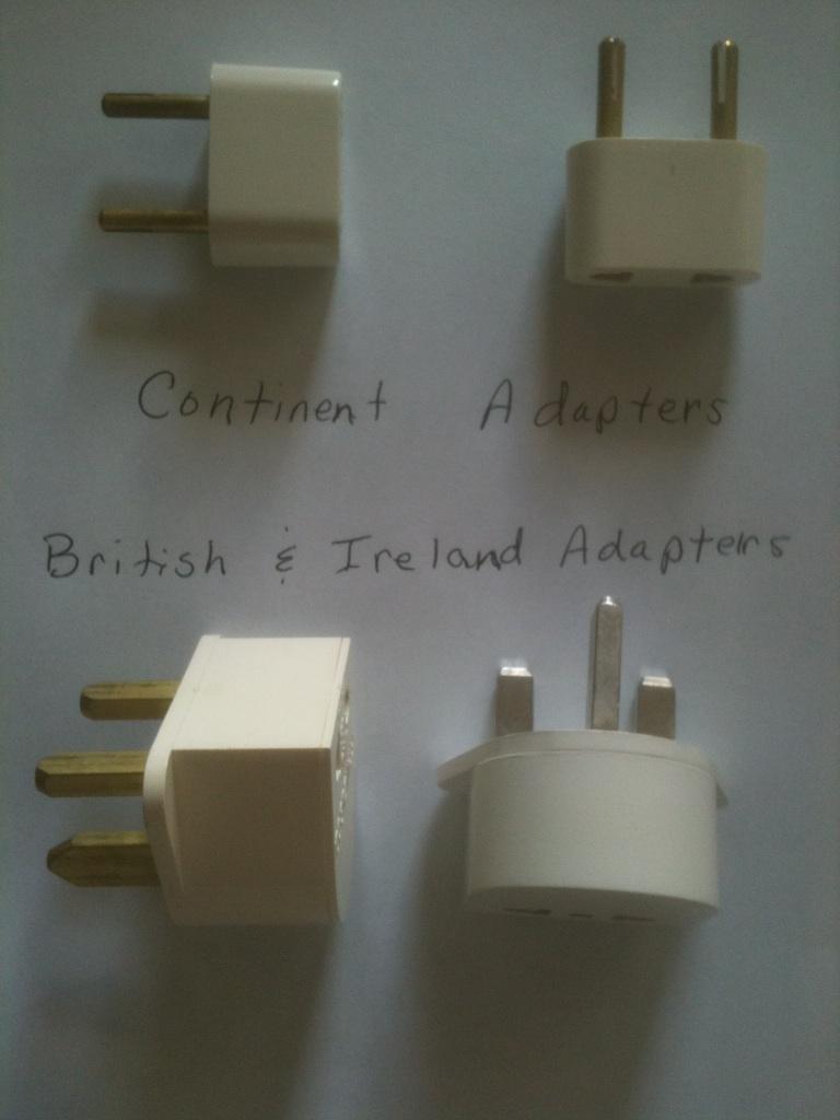 European Adapter Plugs