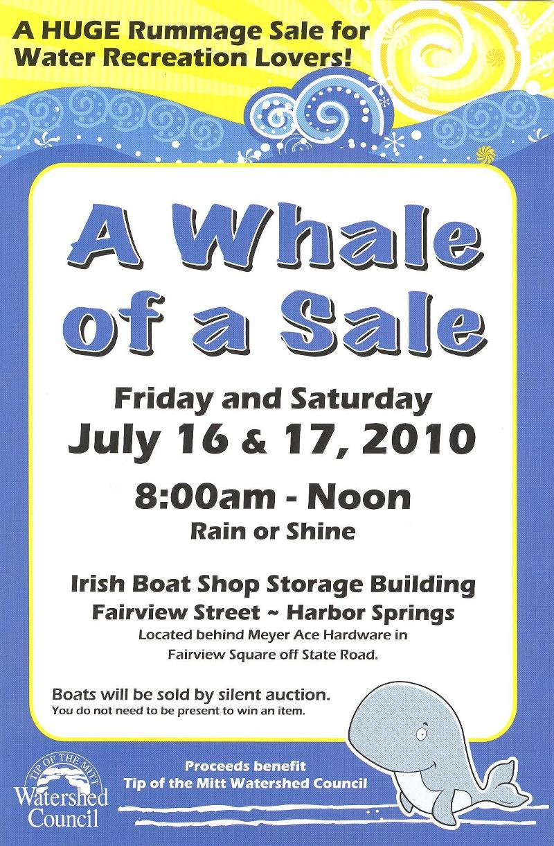 Whale of a sale 2010
