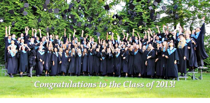 Congrats to Class of 2013