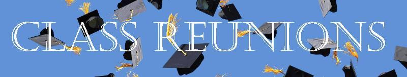 Class Reunions banner