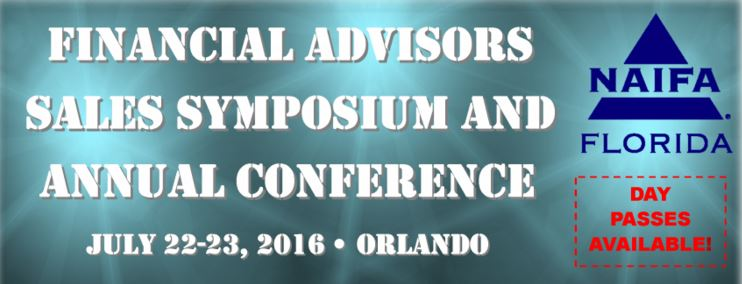 2016 NAIFA-Florida Sales Symposium and Annual Conference