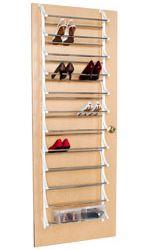 shoe rack organizing closet