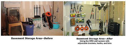 before & after garage