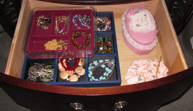 Jewelry Drawer Organized