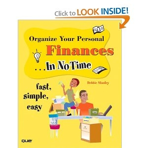 Organize Your Personal Finances - book cover