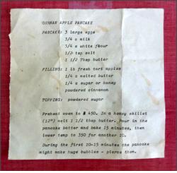 Poets' Recipes
