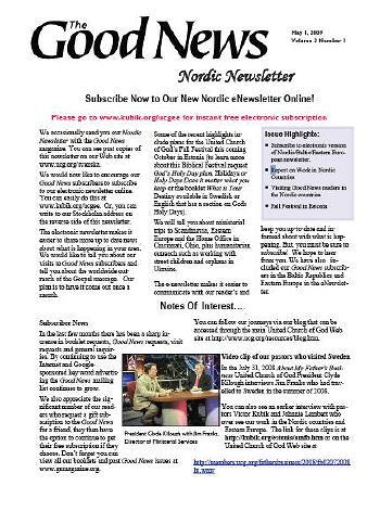 Nordic Newsletter #4
