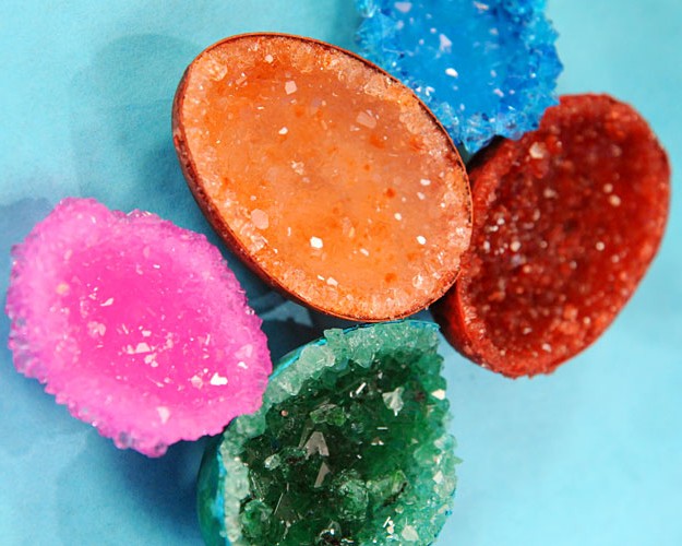 how to make crystal geodes without alum powder