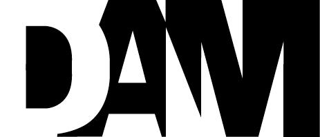 DAM logo black
