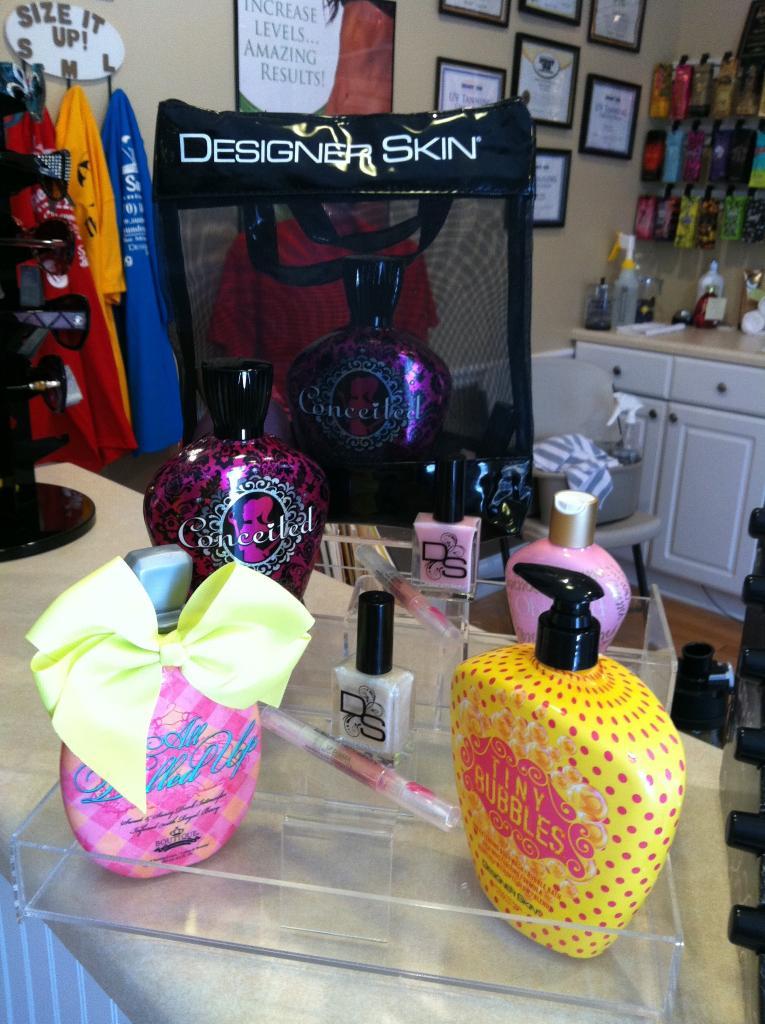 Designer Skin Lotion Bag