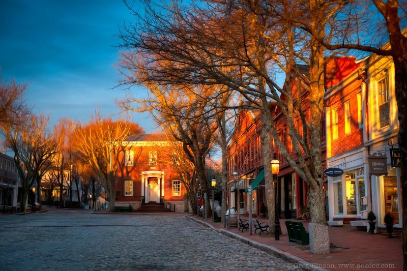 Main Street at Dawn