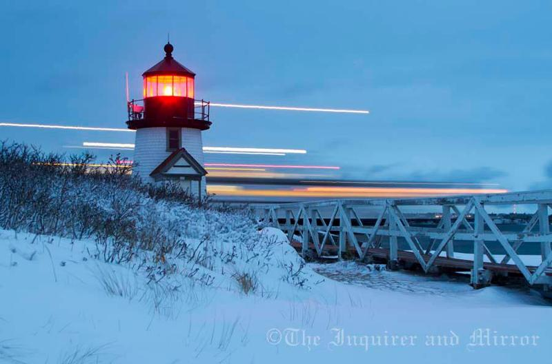 Winter Brant Point Light