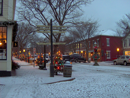 Main Street Winter