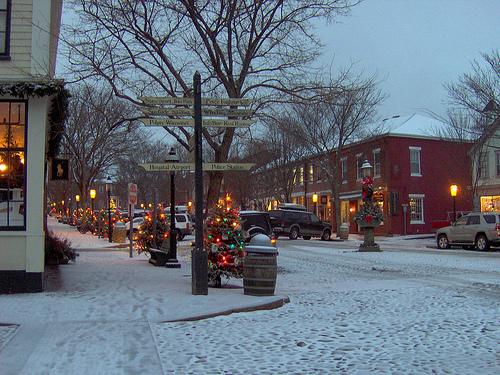 Main Street Winter