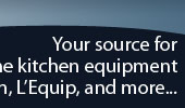 Your source for fine kitchen equipment from Bosch, L'Equip, and more...