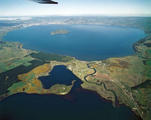 Lake Rotorua & Lake Rotoiti