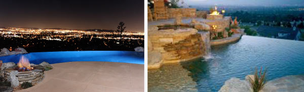 Infinity Pools side by side