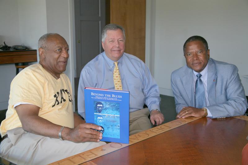 Lee Hampton, John Bullard, and Bill Cosby