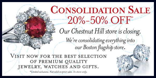 Consolidation Sale: 20 - 50%