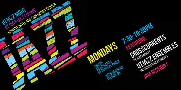 UT Jazz Nights - most every Monday night!