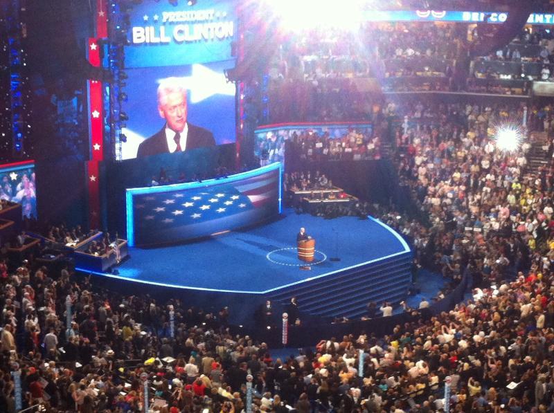 Bill Clinton @ DNC