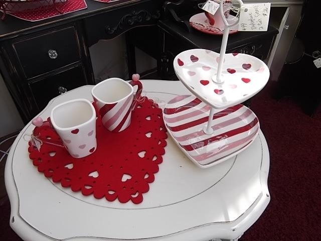valentine plate