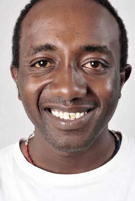 Bryant Mungai, Africa Yoga Project Teacher