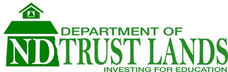 ND Dept. of Trust Lands Logo