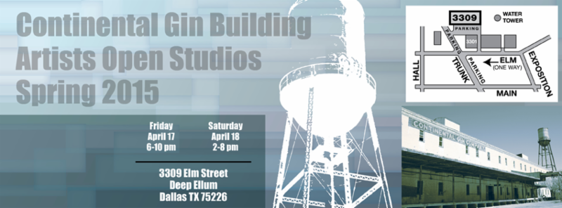 Continental Gin Building Spring 2015 Artist Open Studios