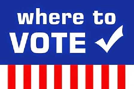 Where to Vote graphic