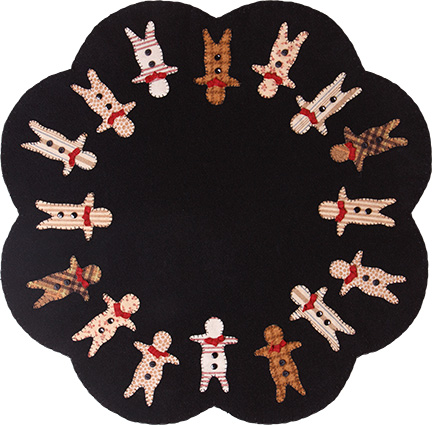 Gingerbread Men Table Mat