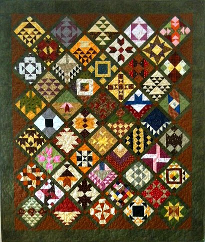Farmer's Wife quilt Charlotte Winters