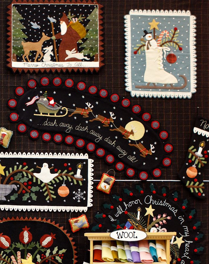 Wool Applique Bonnie Sullivan