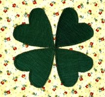 four leaf clover Janet O