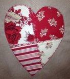 Patchwork Calendar Heart
