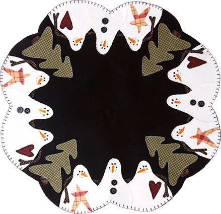 Snowmen Table Mat