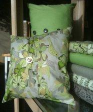 Pillow Floral Birds