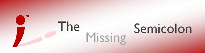 The Missing Semicolon