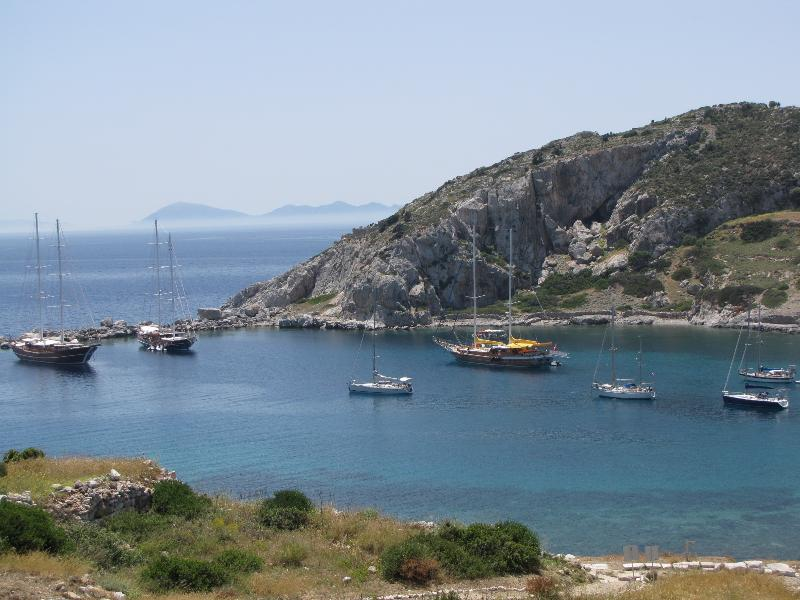 Knidos Harbor Turkey