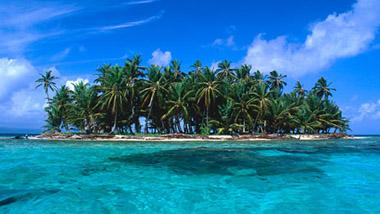 Island in San Blas Archipelago