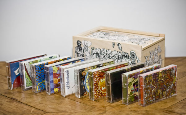 Kevin Barnes Shows Fans the of Montreal Cassette Box Set -
