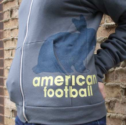 American Football Zip-Up Sweatshirt