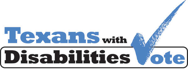 texans with disabilities vote logo