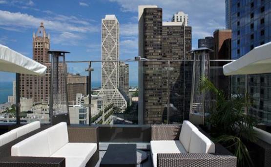 Ivy Sky Terrace Skyline View