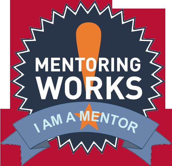 I am a Mentor badge PNG
